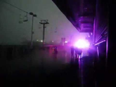 Lightning! Girl Jumps from Seaside Heights Skyride + VIOLENT Aftermath !