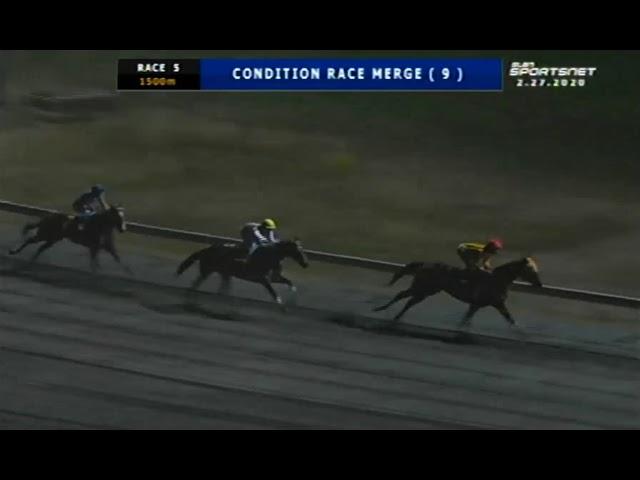 GOLD SMITH - MJCI RACE 5 - FEBRUARY 27, 2020 - BAYANG KARERISTA HORSE RACING AT SAN LAZARO