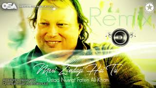 Meri Zindagi Hai Tu (Remix) | Nusrat Fateh Ali Khan | official HD video | OSA Worldwide