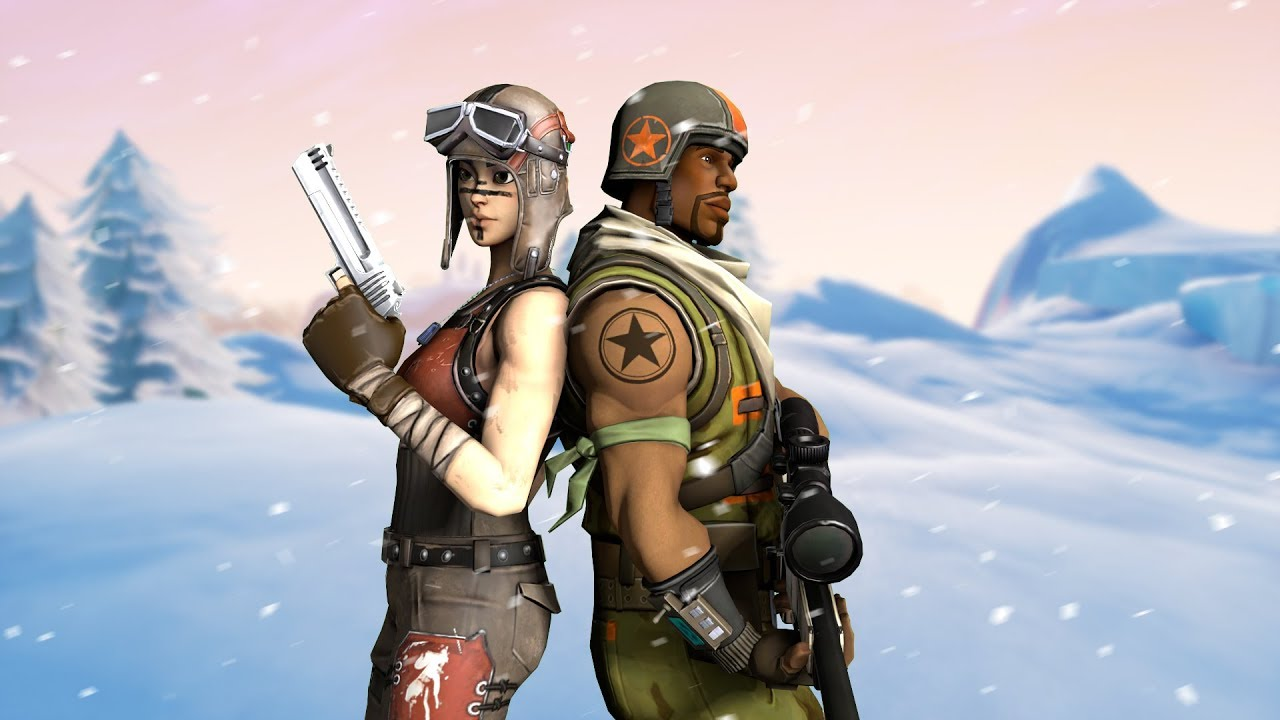 Renegade Raider Thumbnail: Fortnite Montage Ft. Bazerk (Aerial Assault