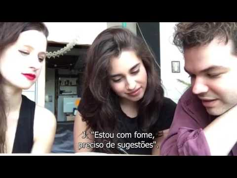 Lauren Jauregui and Marian Hill Facebook  Chat part 44 legendado PT-BR