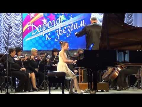 Елизавета Загорулько и Ставропольский симфонический оркестр