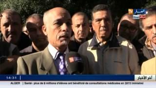 العاصمة : متقاعدي سونطراك في وقفة إحتجاجية للمطالبة بحقوقهم