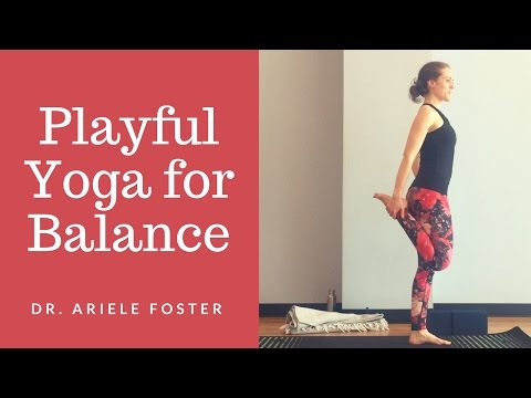 Playful Yoga for Balance Challenge - Full Class (35 minutes)