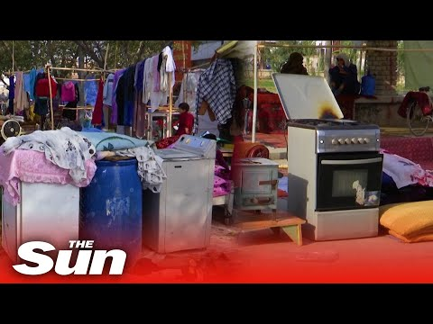 Cash-strapped Afghans forced to selling household items at local markets