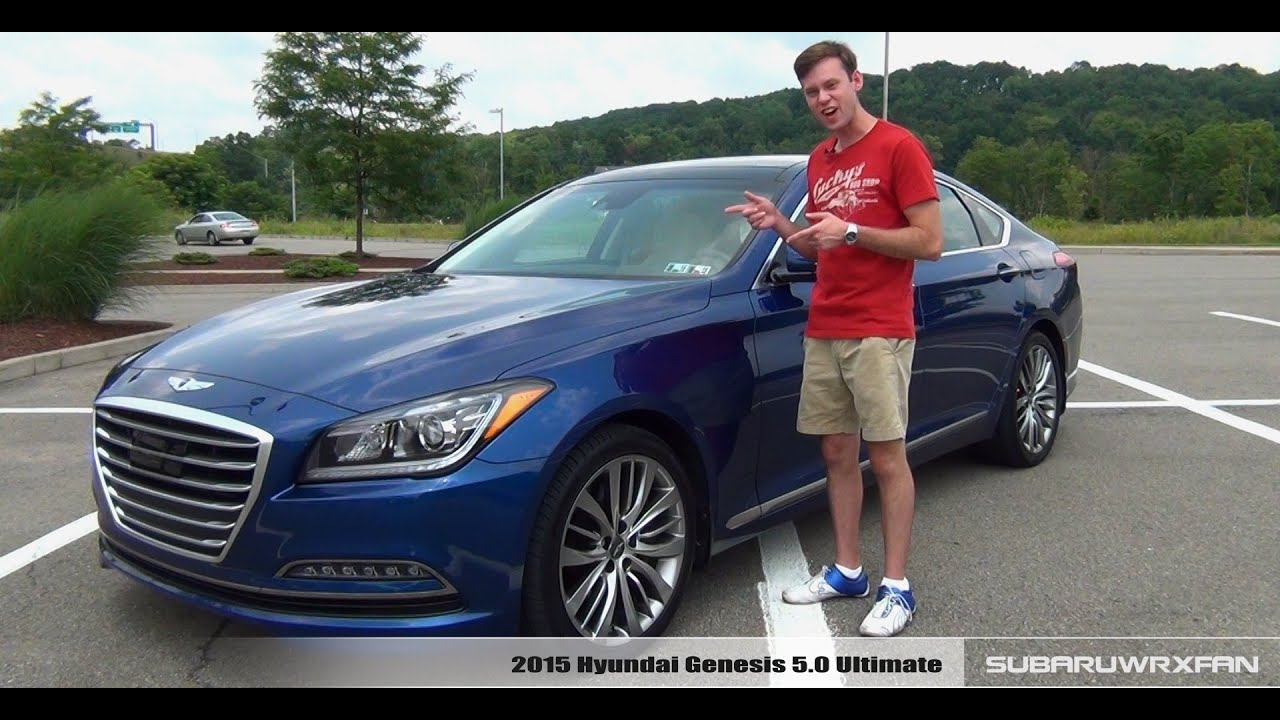 Review: 2015 Hyundai Genesis 5.0 Ultimate - YouTube