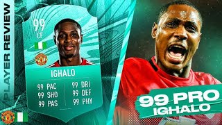 THE MOST BROKEN CARD EVER?! 99 PRO PLAYER CARD IGHALO REVIEW! FIFA 21 Ultimate Team