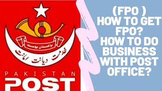 FPO (Franchise Post Office) | How to get Franchise Post Office with details?