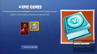FORTNITE NEW INFERNO PACK! FORTNITE NEW INFERNO CHALLENGE REWARDS! HOW TO GET NEW INFERNO SKIN PACK