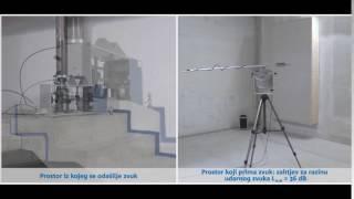 Učinak izolacije udarnog zvuka: Schöck Tronsole®