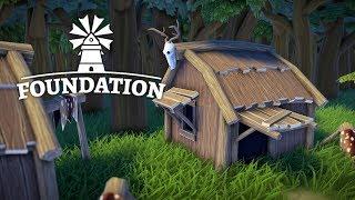 ХИЖИНА ОХОТНИКА #13 Прохождение Foundation