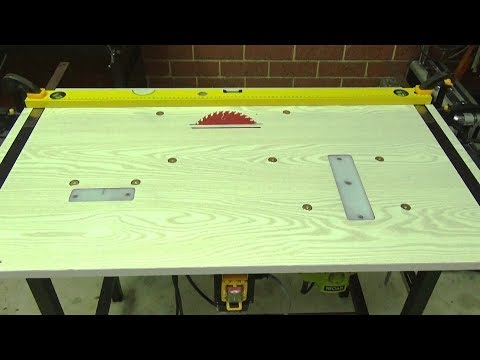3 in 1 Workbench. How to build a Workbench. Table Saw