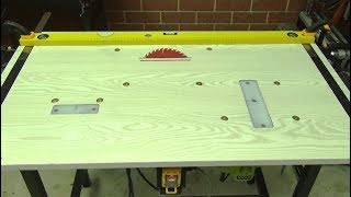 DIY. How to do. 3 in 1 workbench. Router, Jig saw, Circular saw