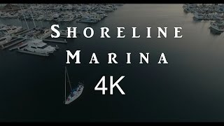 4K Long Beach Drone Footage
