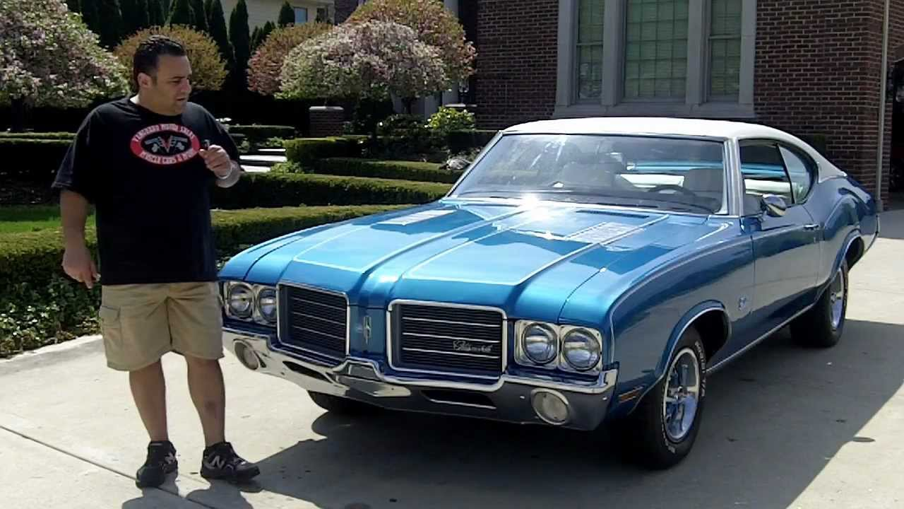1971 Oldsmobile Cutlass Classic Muscle Car for Sale in MI Vanguard ...