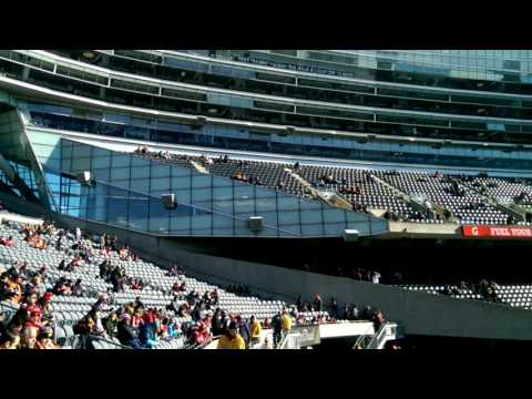 Soldier Field Chicago Bears vs 49ers Pre-game Pan