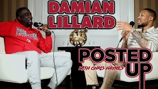 Trail Blazers All-Star Damian Lillard joins Posted Up with Chris Haynes