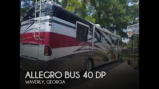 [UNAVAILABLE] Used 2004 Allegro Bus 40 DP in Waverly, Georgia