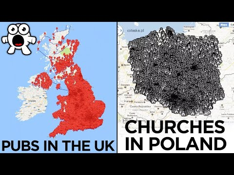 Absurd Maps That Are So Bad They're Good