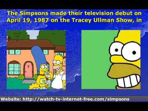 a history of the simpsons in the americas television shows History of the simpsons -- edited by jan de volder august 1 1997 - the simpsons, created by cartoonist matt groening (and named to the members of his family -- except for bart, which is an anagram for brat), appeared in 1897 as a serie of 30-second spots produced for the fox emmy award-winning variety series the tracey ullman show.