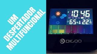 Despertador Digital Digoo DG-C15 - O Relógio Despertador Completo!!