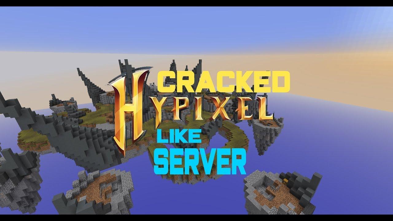Minecraft Skywars  Cracked Hypixel like server - YouTube