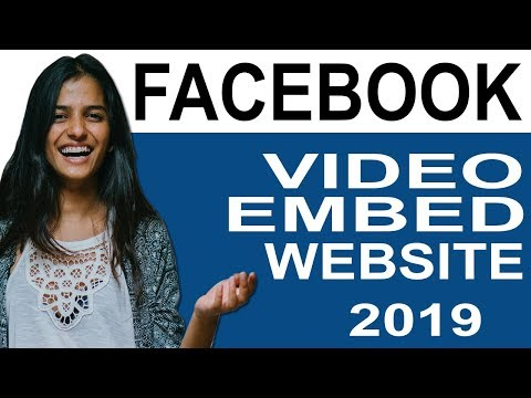 How To Embed Facebook Video In Website
