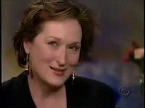 Meryl Streep talk about Sarah Jones in CBS Sunday Morning