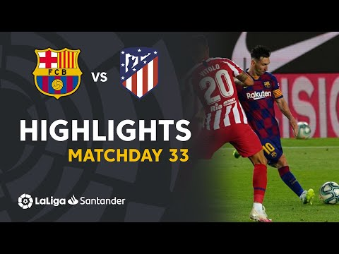 Highlights FC Barcelona Vs Atlético De Madrid (2-2)