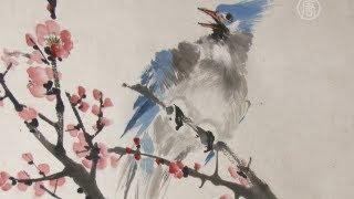 Цветы и птицы — на свитках китайских мастеров