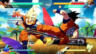 DBFZ: Base Goku spirit bomb setup no sparking