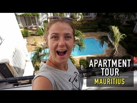 £27 APARTMENT TOUR IN MAURITIUS!! | Mauritius On A Budget #1