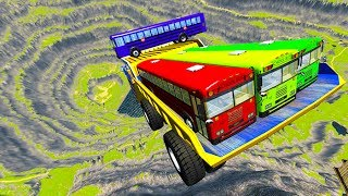 Leap Of Death Car Jumps & Falls #13 BeamNG drive