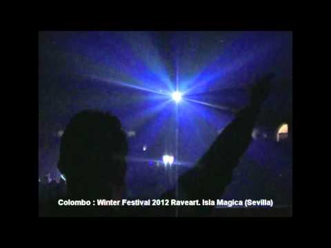 Colombo : Winter Festival 2012 Raveart.Isla Magica (sevilla)