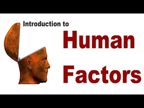 Aviation Human Factors Introduction Faaeasa Compliant To Mag