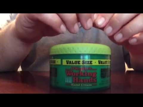 o keeffe s working hands hand cream youtube