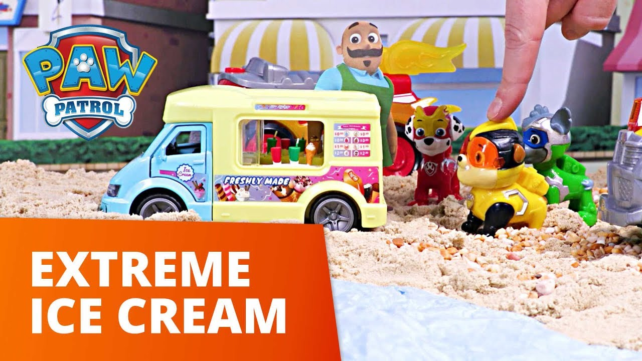 PAW Patrol | Extreme Ice Cream | Mighty Pups Toy Episode | PAW Patrol Official & Friends