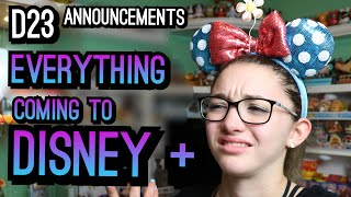 D23 Expo Disney Plus Announcements! Prices, Exclusive Movies, TV Shows & WHAT???