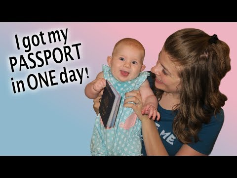 Baby Gets Her 1st Passport