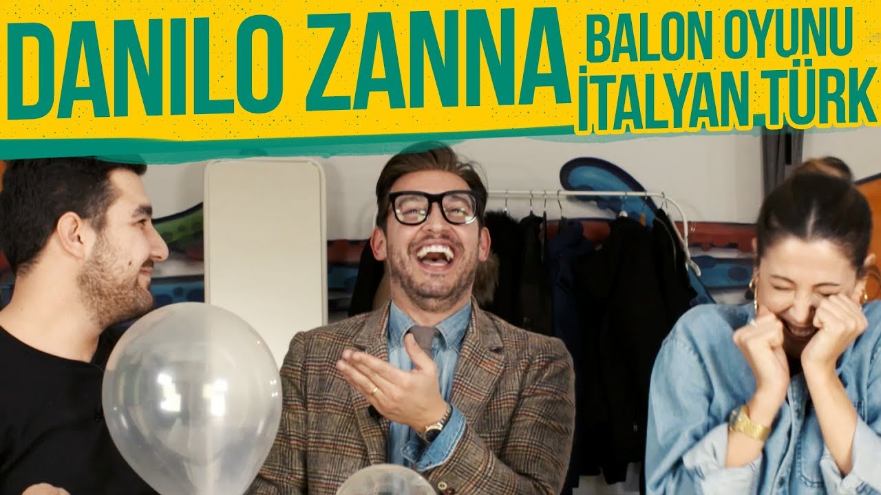 GTalk | #13 Danilo Zanna, İtalyan Türk, Balon Oyunu Oynadık!