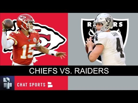 Raiders Vs. Chiefs Live Stream Reaction & Updates On NFL Week 13 AFC West Matchup
