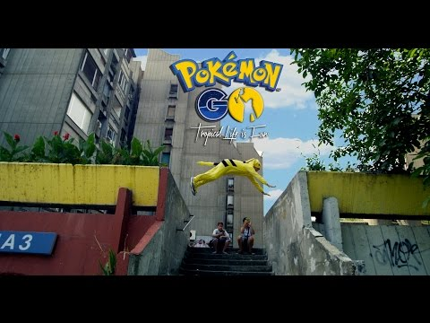Pokemon GO - Pikachu Parkour in REAL LIFE (4K)