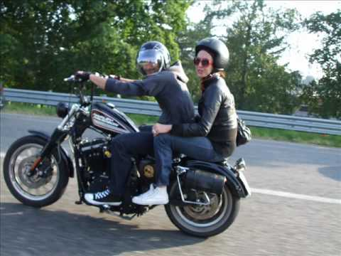 Harley Davidson 883 R Chopper Bobber Youtube
