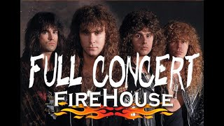 How to play guitar Firehouse Rock on the Road 1990(Full Concert)