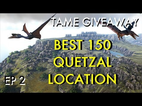 Ark: Survival Evolved RAGNAROK | EP 2 | Best Quetzal Location | Ark  Official Server