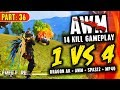 AWM Solo vs Squad 14 Kills Best Gameplay - Garena Free Fire