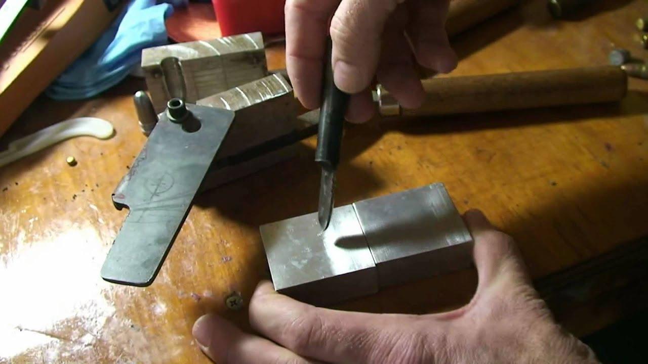 Homemade bullet mold part 1 mp4