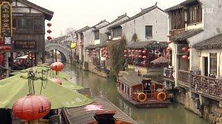 One Day in Suzhou/Jiangsu/China - Central Park/Guanqian/Humble Administrator Garden/Shantang 4K-UHD