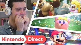 RÉACTION NINTENDO DIRECT JANVIER 2018 ! MARIO ODYSSEY, LAPINS CRÉTINS, DONKEY KONG...