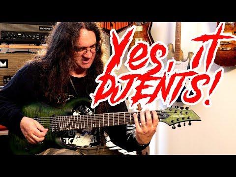 6 Vs 7 Vs 8 Vs 9 String Guitars | Spectre Sound Studios #TGU18